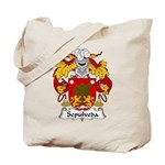 Sepulveda Family Crest  Tote Bag