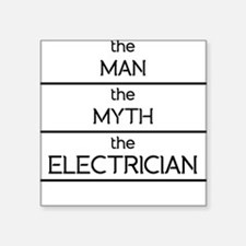 The Man The Myth The Electrician Sticker