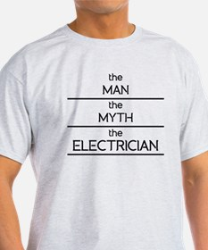 The Man The Myth The Electrician T-Shirt