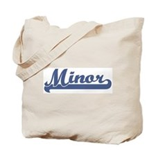 Minor (sport-blue) Tote Bag
