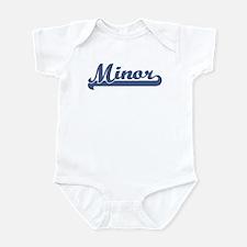 Minor (sport-blue) Infant Bodysuit