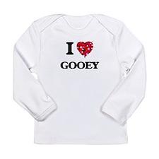 I love Gooey Long Sleeve T-Shirt
