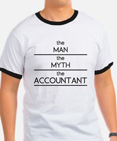 The Man The Myth The Accountant T-Shirt