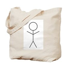 Stick Figure Tote Bag