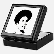 Obama with Afro Keepsake Box
