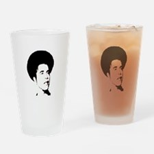 Obama with Afro Drinking Glass