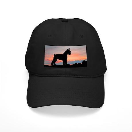 Schnauzer Sunset Black Cap