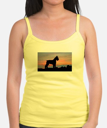 Schnauzer Sunset Tank Top