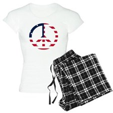 American Flag Peace Sign Be Pajamas