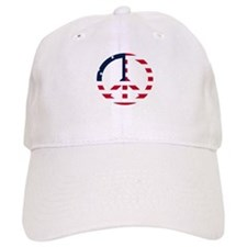 American Flag Peace Sign Betsy Ross White.png Cap
