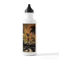 Ruin in the sunet Water Bottle