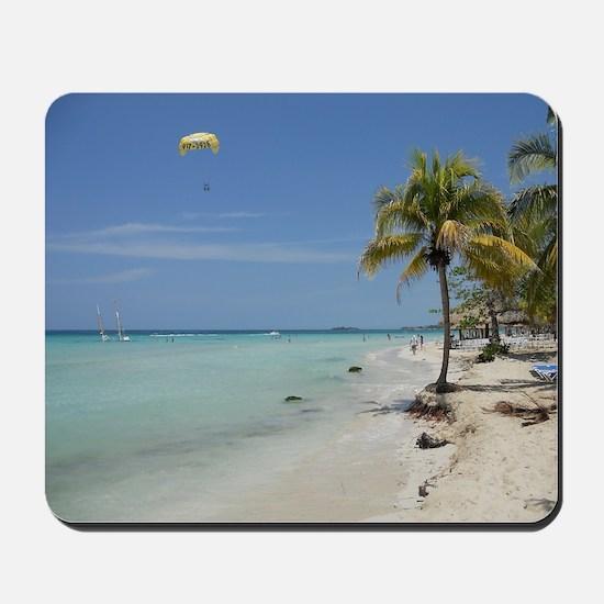 Negril Beach Jamaica Mousepad