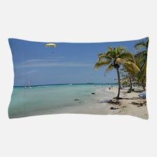 Negril Beach Jamaica Pillow Case