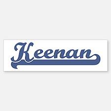 Keenan (sport-blue) Bumper Bumper Bumper Sticker