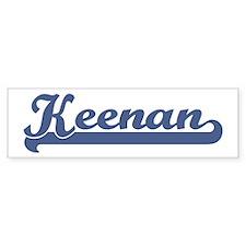 Keenan (sport-blue) Bumper Bumper Sticker