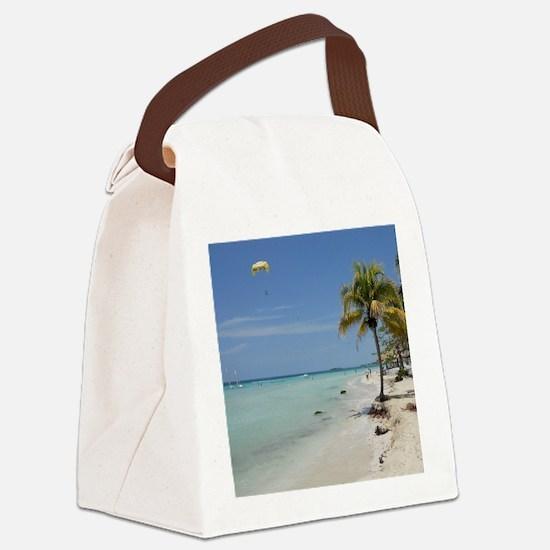 Negril Beach Jamaica Canvas Lunch Bag