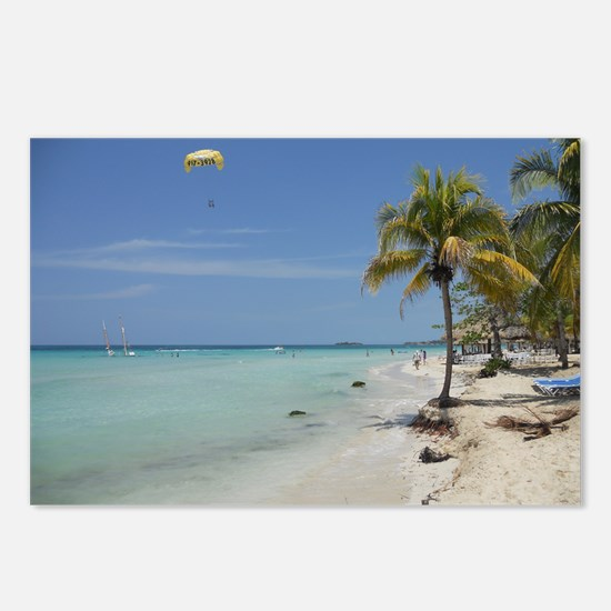 Negril Beach Jamaica Postcards (Package of 8)