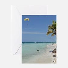 Negril Beach Jamaica Greeting Cards