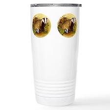 Unique Badger Travel Mug
