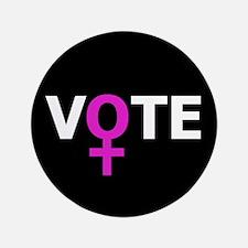 Women Vote Button