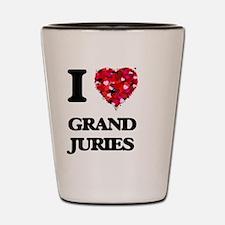 I love Grand Juries Shot Glass