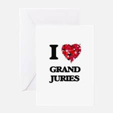I love Grand Juries Greeting Cards