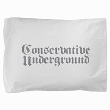 Conservative Underground.png Pillow Sham