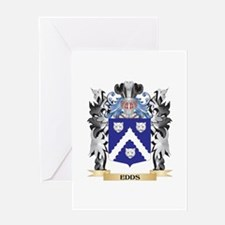 Edds Coat of Arms - Family Crest Greeting Cards
