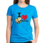 I Love Beethoven Women's T-Shirt