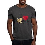 I Love Beethoven Charcoal Grey T-Shirt