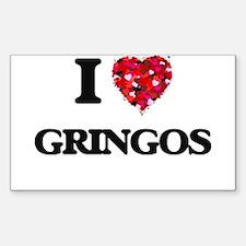 I love Gringos Decal