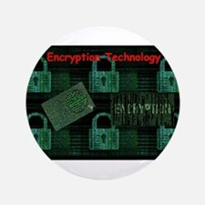 Encryption Technology Button