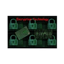 Encryption Technology Magnets