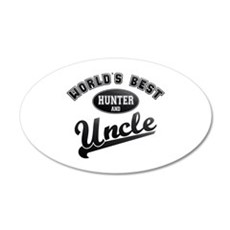 Best Hunter Uncle 20x12 Oval Wall Decal