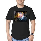 Artificial intelligence Fitted T-shirts (Dark)
