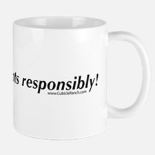 Please, enjoy fonts responsib Mug