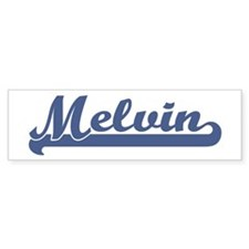 Melvin (sport-blue) Bumper Bumper Sticker