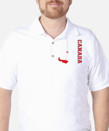 Sailing Canada Golf Shirt
