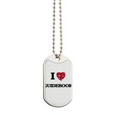 I love Guidebook Dog Tags