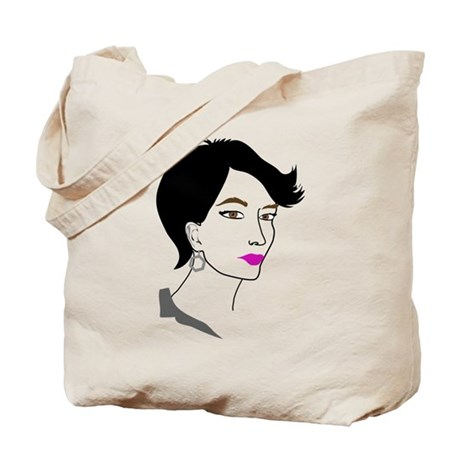 80s New Wave Glamour Tote Bag