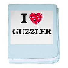 I love Guzzler baby blanket