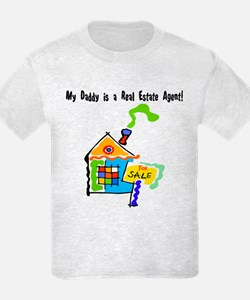 My Daddy is a Real Estate Agent T-Shirt