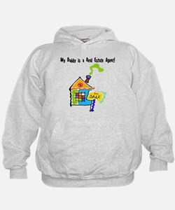My Daddy is a Real Estate Agent Hoodie