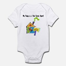My Daddy is a Real Estate Agent Infant Bodysuit