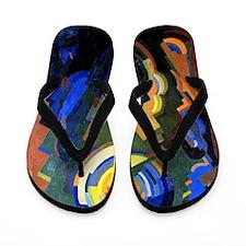 Mainie Jellett - Abstract Composition Flip Flops