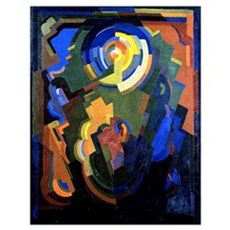 Mainie Jellett - Abstract Composition Poster