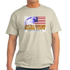 United States Marine Corps Ash Grey T-Shirt