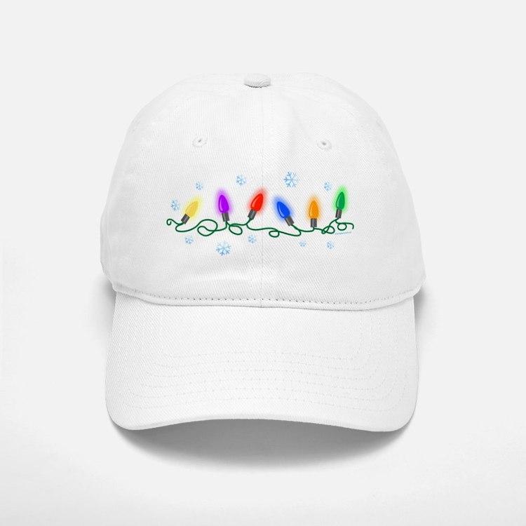 Holiday Lights Cap