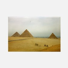 Egyptian Pyramids and Camels, Giza Rectangle Magne