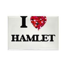 I love Hamlet Magnets